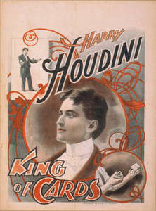 Free Vintage Picture of a Harry Houdini Theatrical Poster
