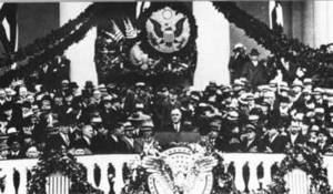 Free Photo of FDR Delivering His Inaugural Address, 1943