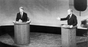 Free Photo of Carter and Ford Debating
