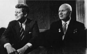 Free Picture of U.S. President Kennedy and Khrushchev, Vienna, 1961