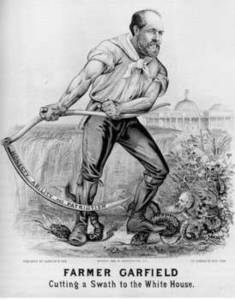 Free Picture of an 1880 Campaign Poster for James Garfield