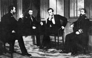 Free Picture of Abraham Lincoln and His Advisors