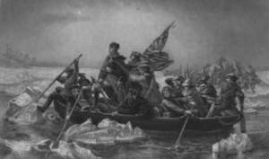 Free Picture of Washington Crossing the Delaware, 1776