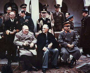 Free Photo of USA Allies Conference at Yalta, 1945