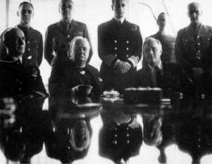 Free Photo of USA Allies Conference, N. Africa, 1943