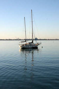 Free Picture of A Sailboat