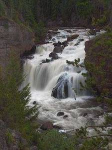 Free Picture of Firehole Falls