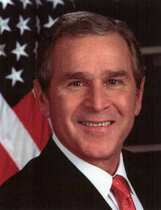 Free Picture of President George W. Bush