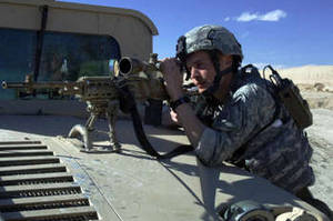 Free Photo of a Soldier in the Infantry Regiment, Ghazni, Afghanistan