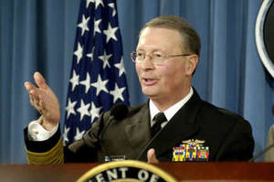 Free Photo of Vice Chairman of the Joint Chiefs of Staff, Admiral Edmund P. Giambastiani