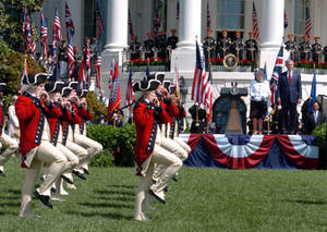 Free Picture of The Old Guard Fife and Drum Corps