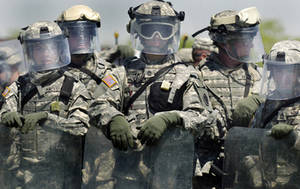 Free Picture of Army National Guard Soldiers During Weapons Training in Indiana