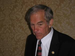Free Picture of Libertarian Congressman,  Ron Paul