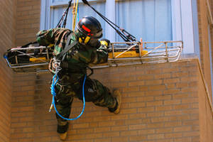 Free Picture of a Marine Corps Victim Extraction Training