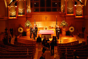 Free Picture of Gerald Ford Funeral