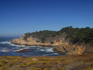 Free Picture of a Cove at Big Sur, California