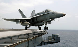 Free Picture of a F/A-18A Hornet Aircraft