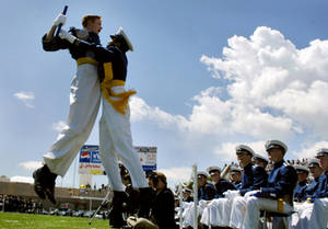 Free Picture of U.S. Air Force Academy Cadets Graduating