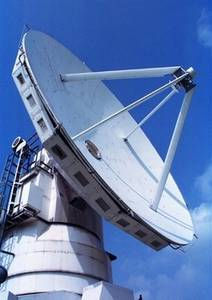 Free Picture of a Radio Telescope in Nobeyama, Japan