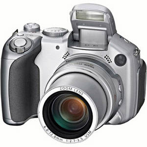 Free Clipart Picture of Silver, Digital Camera