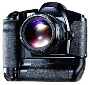 Free Clipart Picture of a Digital Camera