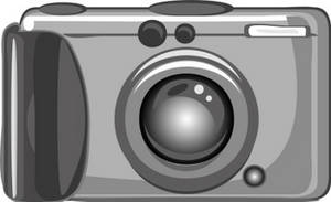 Free Clipart Picture of a Compact Digital Camera