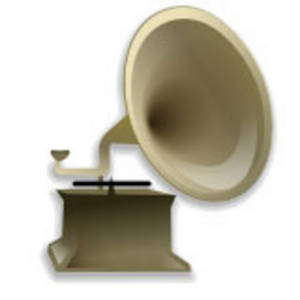 Free Clipart Picture of Phonograph