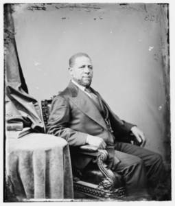 Free Picture of a Portrait of Hiram Rhodes Revels