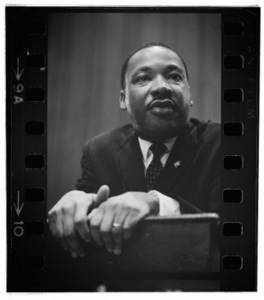 Free Clipart Photo of Martin Luther King Jr - Civil Rights Conference 1964
