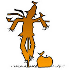 Free Clipart Picture of a Scarecrow
