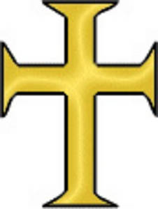 Free Clipart Picture of a Roman Cross