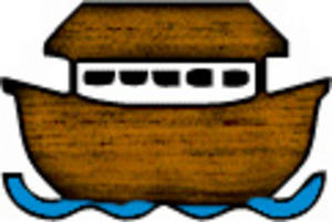Free Clipart Picture of Noah's Ark