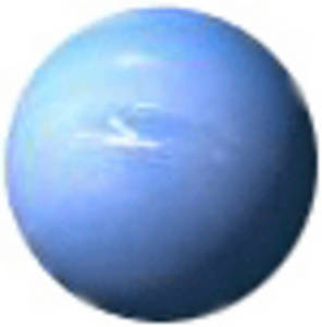 Free Clipart Picture of the Planet Neptune