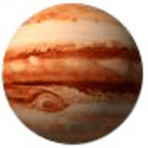 Free Clipart Picture of the Planet Jupiter