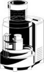 Free Clipart Picture of a Food Processor