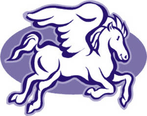 Free Clipart Picture of a Pegasus