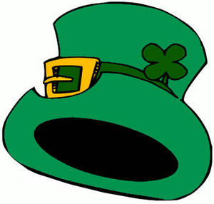 Free Clipart Image of a Leprechaun's Hat