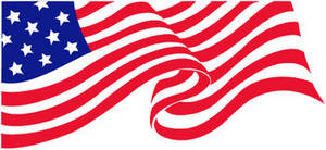 Free Clipart Illustration of America's Flag