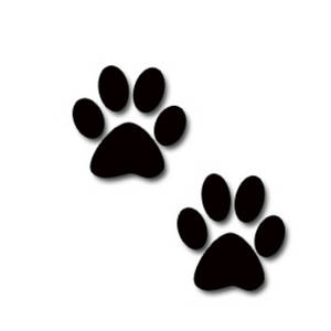 Puppy Coloring Sheets on Description  This Free Clipart Picture Is Of Black Animal Paw Prints