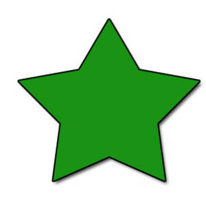 Free Web Graphic Clipart Picture of a Star