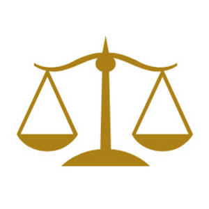 Free Clipart Picture of a Gold Scales