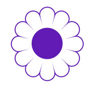 Free Clipart Picture of a Daisy