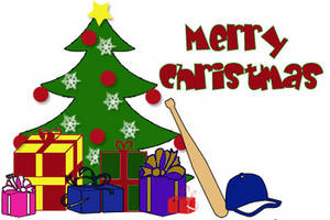 Free Clipart Picture of a  Decorated Christmas Tree With Presents