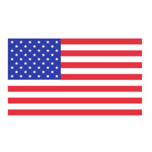 Free Clipart Picture of an American Flag