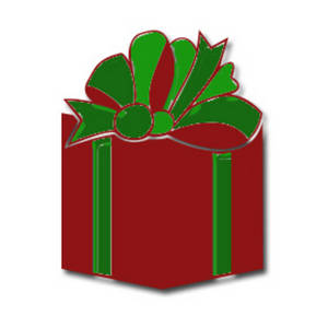 Free Clipart Picture Of a Christmas Present