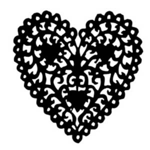 Free Clipart Picture of a Pagan Heart Design