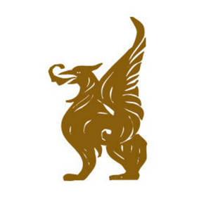 Free Clipart Picture of a Golden Gryphon