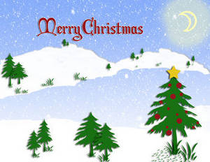 free christmas clipart picture of a snowy lake scene with merry rh clipartguide com christmas scenes clipart free christmas scenes clip art free images