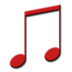 Free Beamed Quarter Notes Clipart Picture