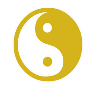Clipart Picture of a Yin/Yang Symbol